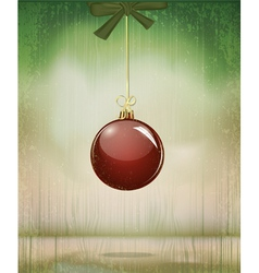 grungy vintage christmas vector image vector image