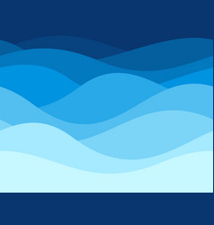 blue waves pattern summer lake wave water flow vector image
