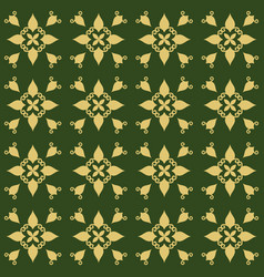 dark green background with beautiful gold vector image