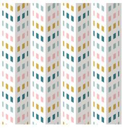 Fashion abstract chevron pattern seamless fabric vector