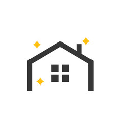 home icon design template isolated vector image