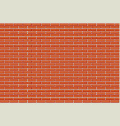 old red brick wall seamless pattern vector image