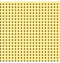 seamless yellow simple grid pattern vector image