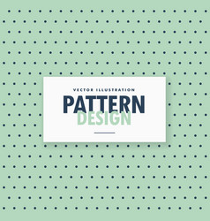 Simple polka dots pattern background vector