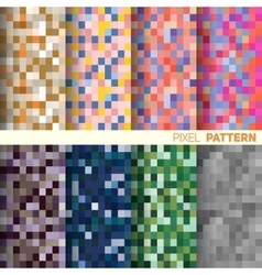 The pixel pattern vector image