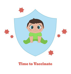 Time to vaccinate time to vaccinate vector