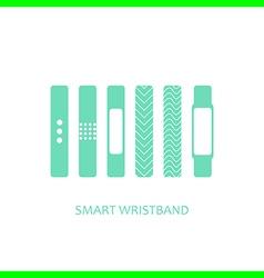 Wearable bracelet vector
