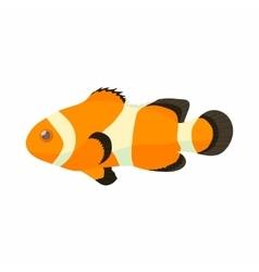 Clown fish icon cartoon style vector image vector image
