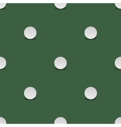 Golf Seamless Pattern Summer Sport Background vector image