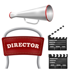 Items cinema vector