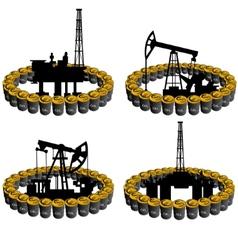 Petroleum business-5 vector image vector image