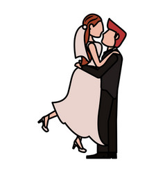 couple wedding love image vector image