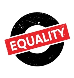 Equality rubber stamp vector