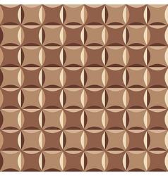 Geometrical pattern in brown vector