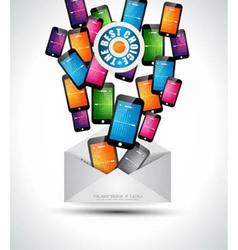 Phone email vector