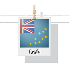 Photo of tuvalu flag vector