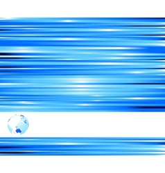 technological blue colored banner vector image