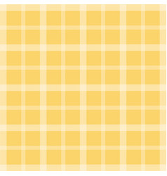 Yellow checkered tablecloth flat icon isolated vector