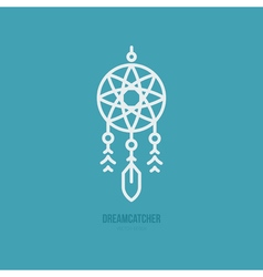 Dream Catcher Icon vector image
