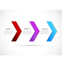 Step design vector image vector image