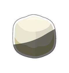 sweet sugar cube vector image