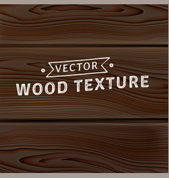 Background texture of realistic natural wooden vector