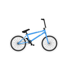 bmx sport bicycle isolated icon vector image