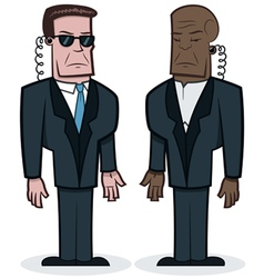 Bodyguards vector