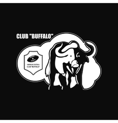 Buffalo Logo emblem vector
