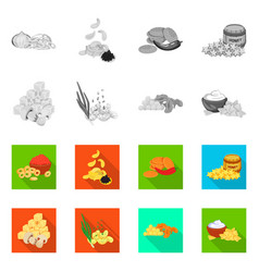 Design taste and seasonin icon vector