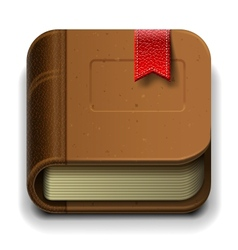 Ebook icon Eps10 vector image