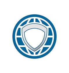 Global Protection Logo 380x400 vector image
