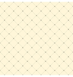 Seamless ornamental pattern background vector