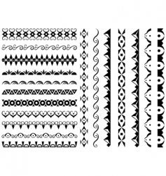 set of original design element vector image vector image
