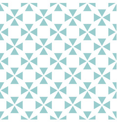 tile pattern with green blue and white background vector image vector image