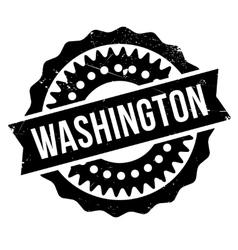 Washington stamp rubber grunge vector