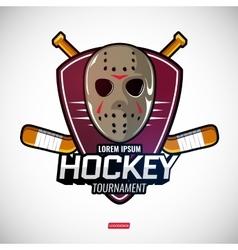 Sports logos for hockey vector