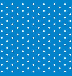Background template design with polka dots on blue vector