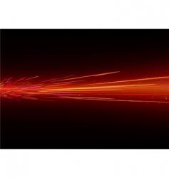 light splashes vector image