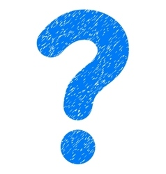 Question Grainy Texture Icon vector