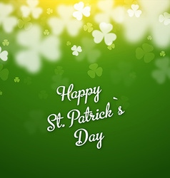 Saint Patricks Days Background vector