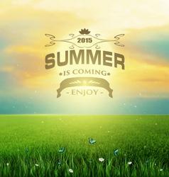 Summer Backgroun vector