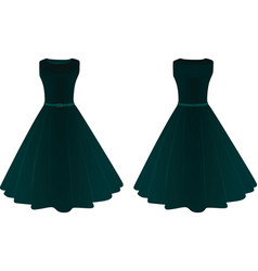 Women dress vector