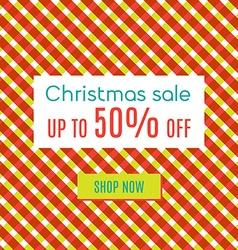 Xmas special sale vector image