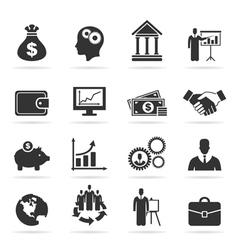 Icon business9 vector