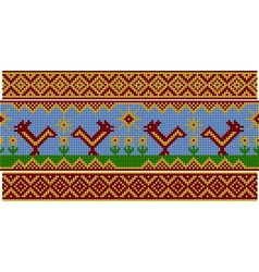 Russian pattern Set vector image