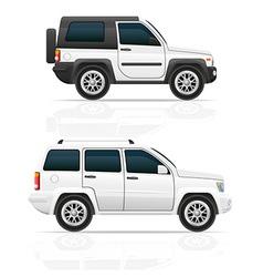car jeep off road suv 03 vector image