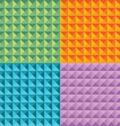 geometric triangles vector image
