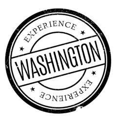 Washington stamp rubber grunge vector image
