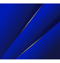 Abstract background with dark blue layers vector